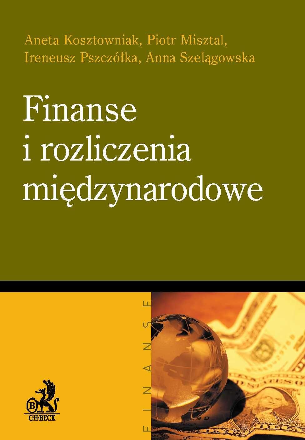 Finanse i rozliczenia międzynarodowe - Ebook (Książka PDF) do pobrania w formacie PDF