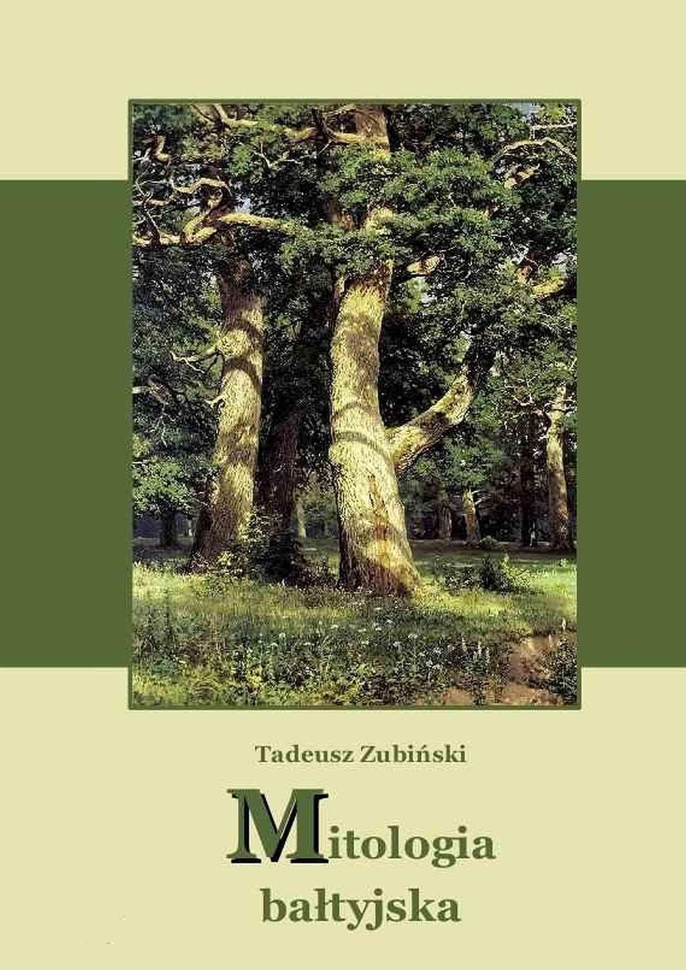 Mitologia bałtyjska - Ebook (Książka EPUB) do pobrania w formacie EPUB
