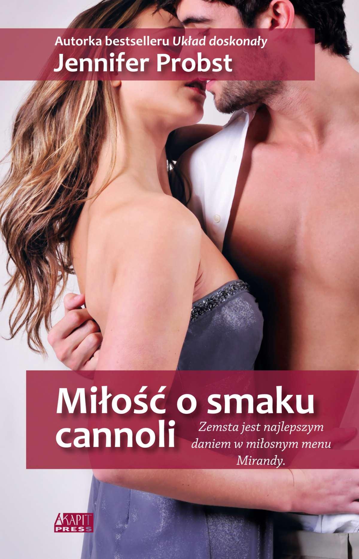 Miłość o smaku cannoli - Ebook (Książka na Kindle) do pobrania w formacie MOBI