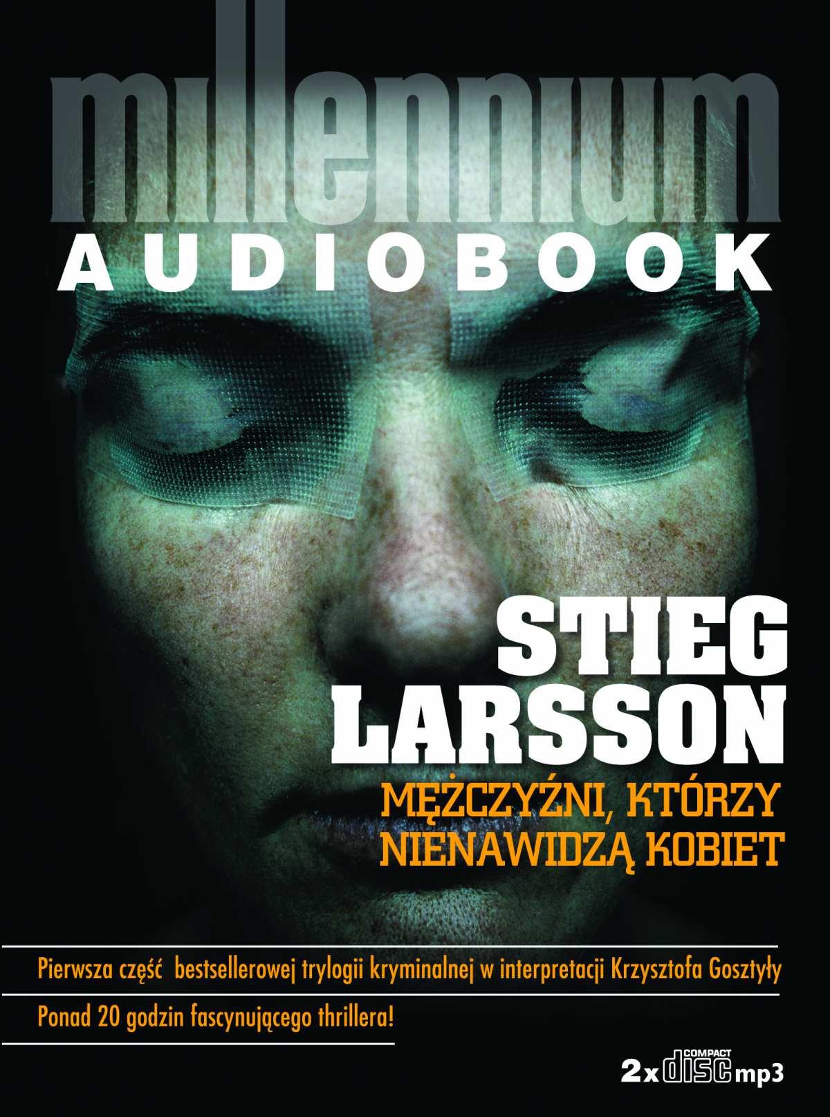 Mężczyźni, którzy nienawidzą kobiet - Audiobook (Książka audio MP3) do pobrania w całości w archiwum ZIP