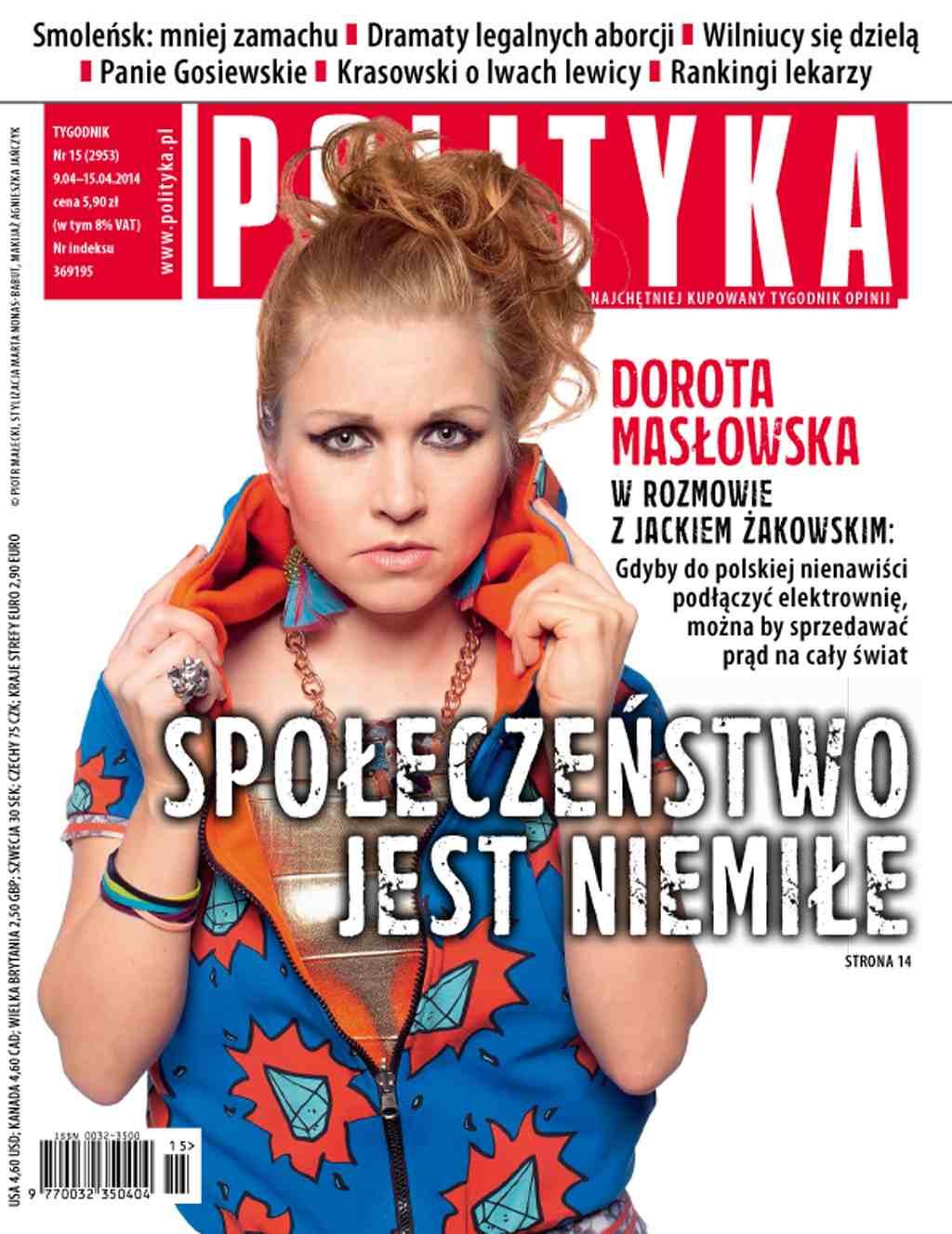 Polityka nr 15/2014 - Ebook (Książka PDF) do pobrania w formacie PDF