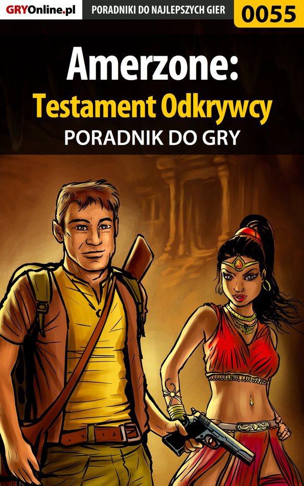 Amerzone: Testament Odkrywcy - poradnik do gry - Ebook (Książka EPUB) do pobrania w formacie EPUB