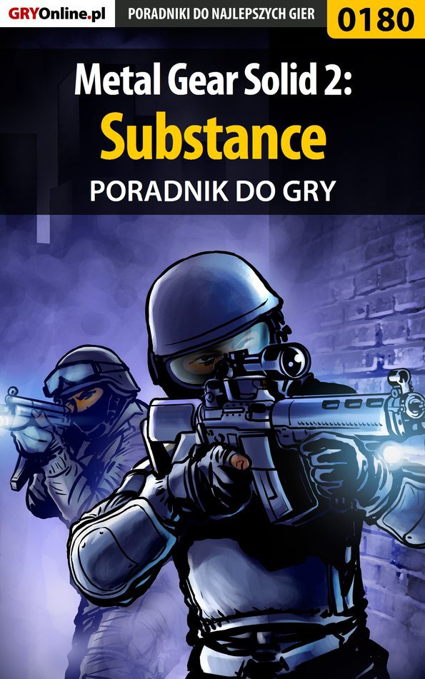 Metal Gear Solid 2: Substance - poradnik do gry - Ebook (Książka EPUB) do pobrania w formacie EPUB