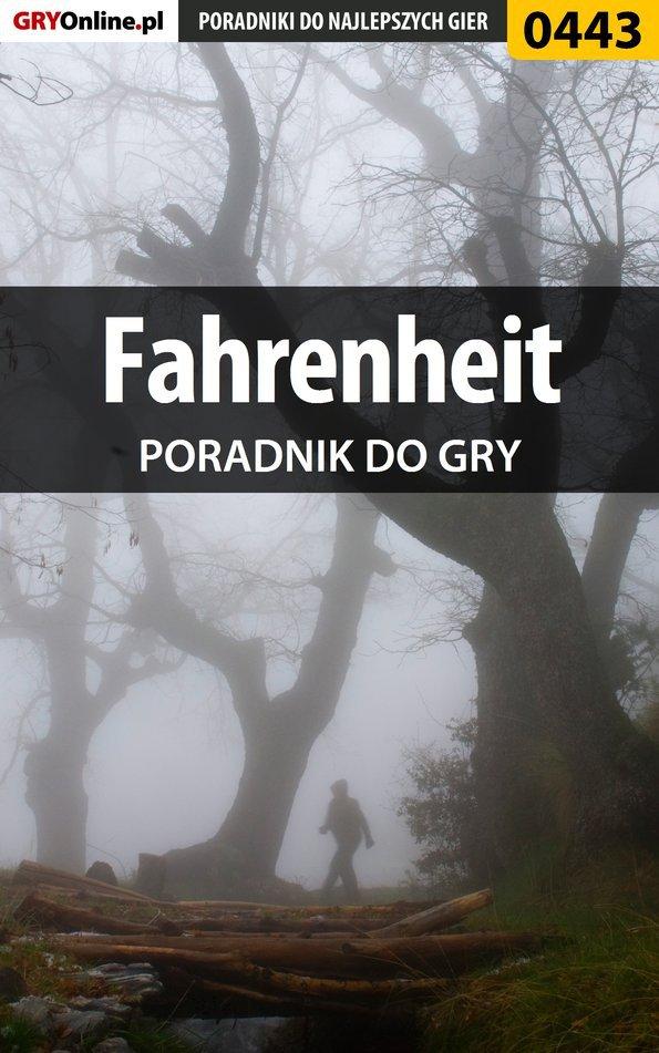 Fahrenheit - poradnik do gry - Ebook (Książka EPUB) do pobrania w formacie EPUB