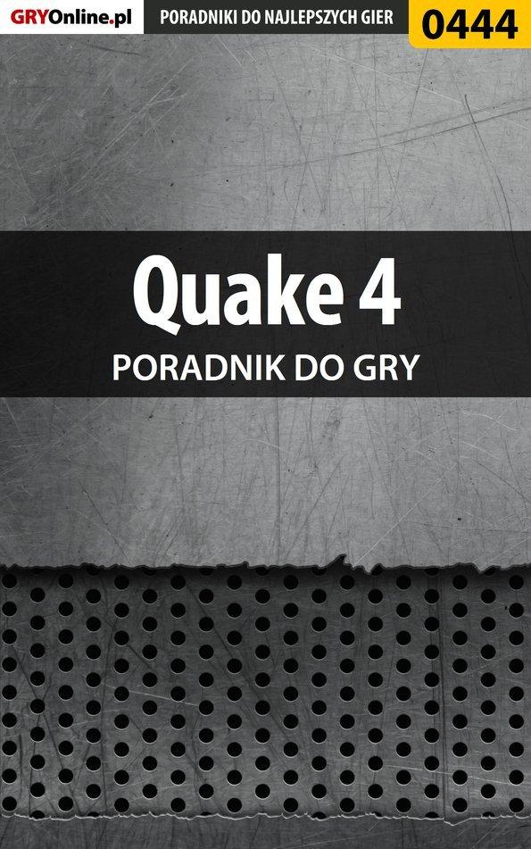 Quake 4 - poradnik do gry - Ebook (Książka EPUB) do pobrania w formacie EPUB