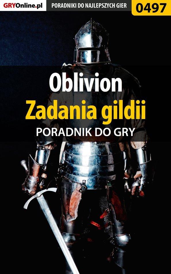 Oblivion - zadania gildii - poradnik do gry - Ebook (Książka EPUB) do pobrania w formacie EPUB