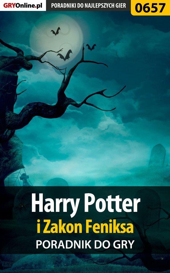 Harry Potter i Zakon Feniksa - poradnik do gry - Ebook (Książka EPUB) do pobrania w formacie EPUB