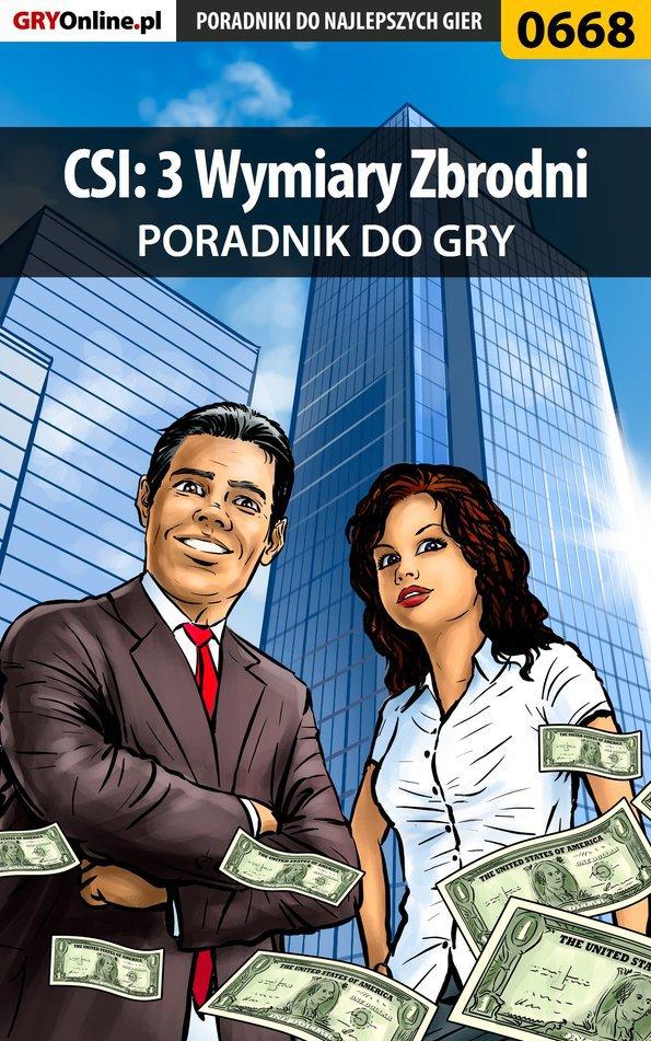 CSI: 3 Wymiary Zbrodni - poradnik do gry - Ebook (Książka EPUB) do pobrania w formacie EPUB