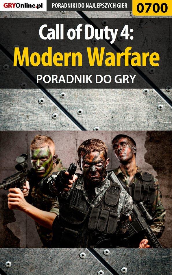 Call of Duty 4: Modern Warfare - poradnik do gry - Ebook (Książka EPUB) do pobrania w formacie EPUB