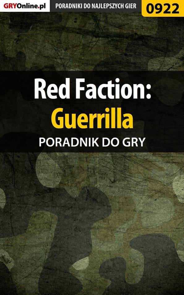 Red Faction: Guerrilla - poradnik do gry - Ebook (Książka EPUB) do pobrania w formacie EPUB