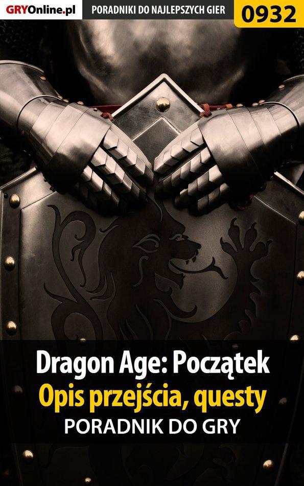 Dragon Age: Początek - poradnik do gry - Ebook (Książka EPUB) do pobrania w formacie EPUB