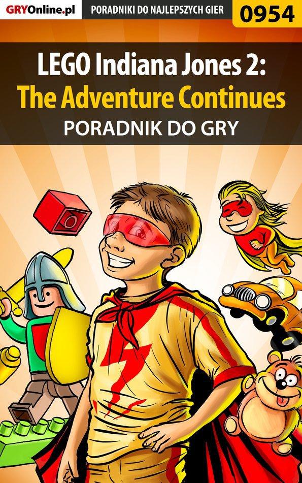 LEGO Indiana Jones 2: The Adventure Continues - poradnik do gry - Ebook (Książka EPUB) do pobrania w formacie EPUB