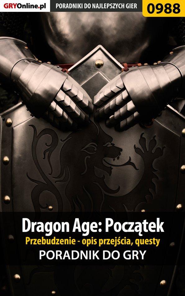 Dragon Age: Początek - Przebudzenie - poradnik do gry - Ebook (Książka EPUB) do pobrania w formacie EPUB