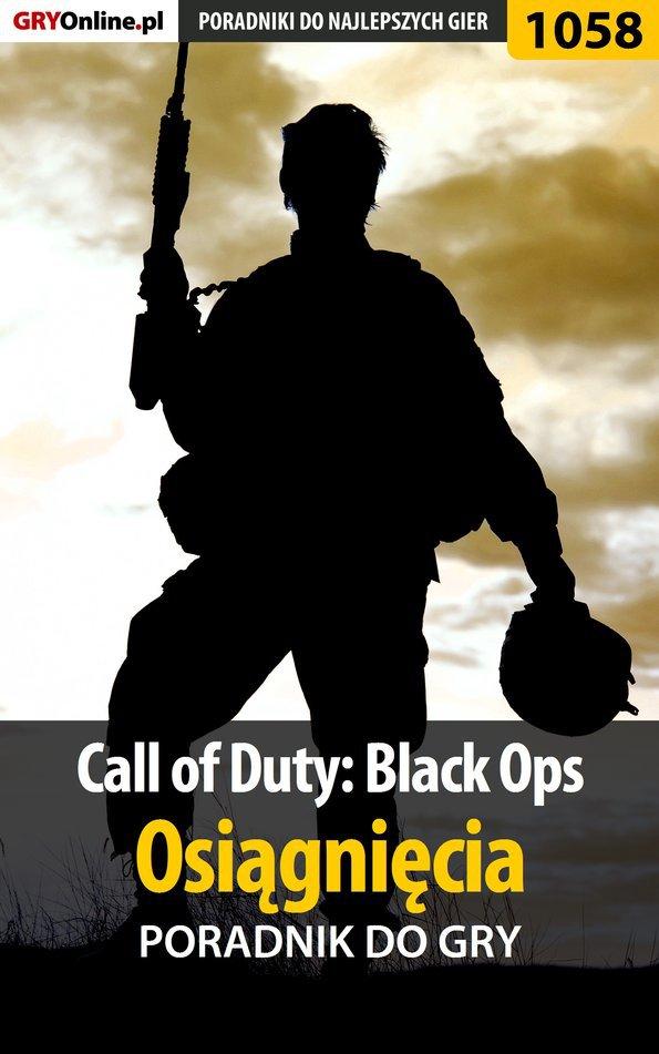 Call of Duty: Black Ops - Osiągnięcia - poradnik do gry - Ebook (Książka EPUB) do pobrania w formacie EPUB