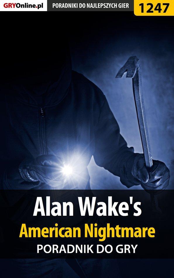 Alan Wake's American Nightmare - poradnik do gry - Ebook (Książka EPUB) do pobrania w formacie EPUB