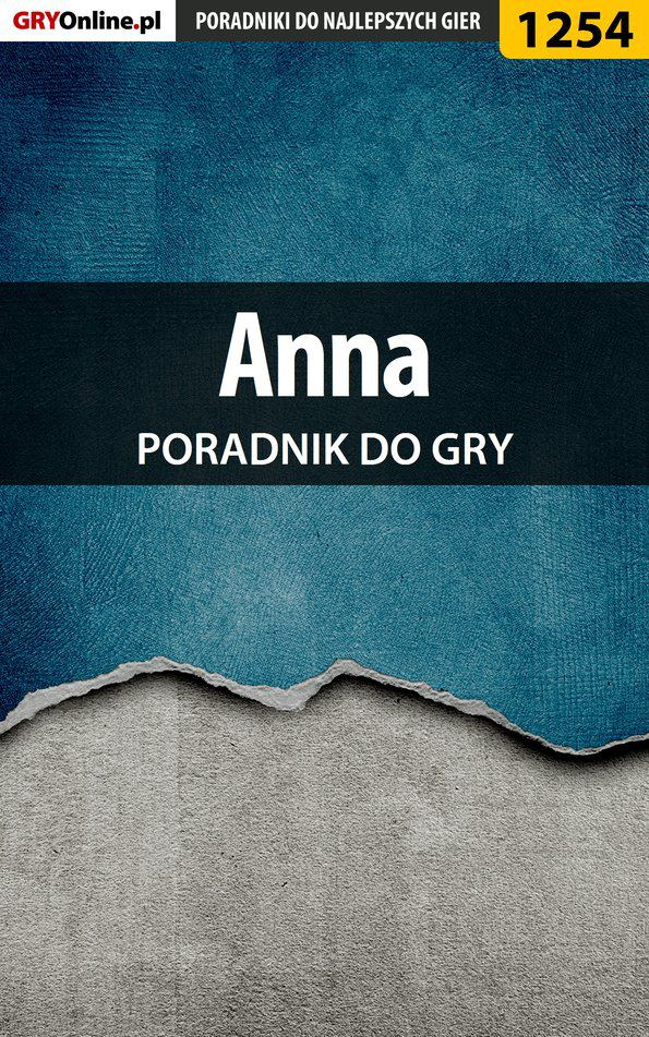 Anna - poradnik do gry - Ebook (Książka EPUB) do pobrania w formacie EPUB