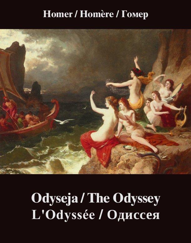 Odyseja. The Odyssey. L'Odyssée. Одиссея - Ebook (Książka na Kindle) do pobrania w formacie MOBI