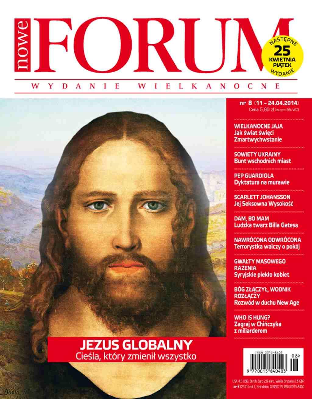 Forum nr 8/2014 - Ebook (Książka PDF) do pobrania w formacie PDF