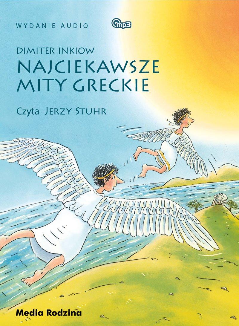 Najciekawsze mity greckie - Audiobook (Książka audio MP3) do pobrania w całości w archiwum ZIP