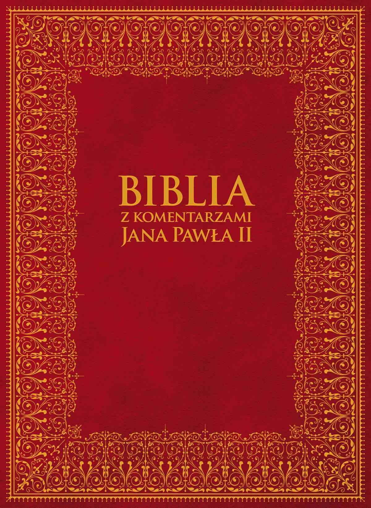 Biblia z Komentarzami Jana Pawła II - Ebook (Książka EPUB) do pobrania w formacie EPUB