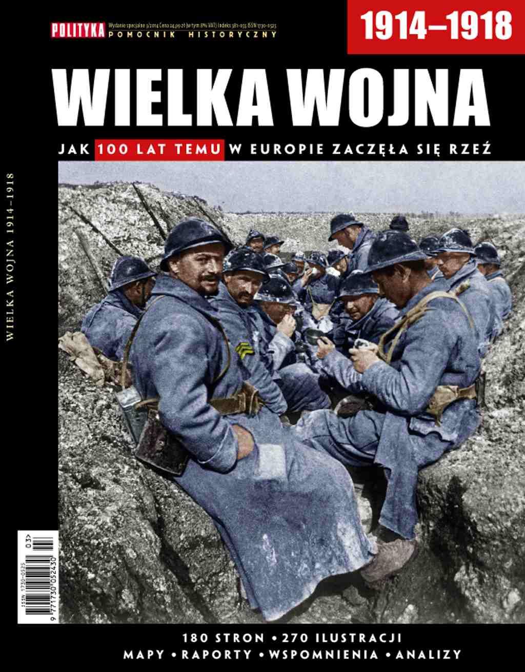 Pomocnik Historyczny: Wielka Wojna 1914-1918 - Ebook (Książka PDF) do pobrania w formacie PDF