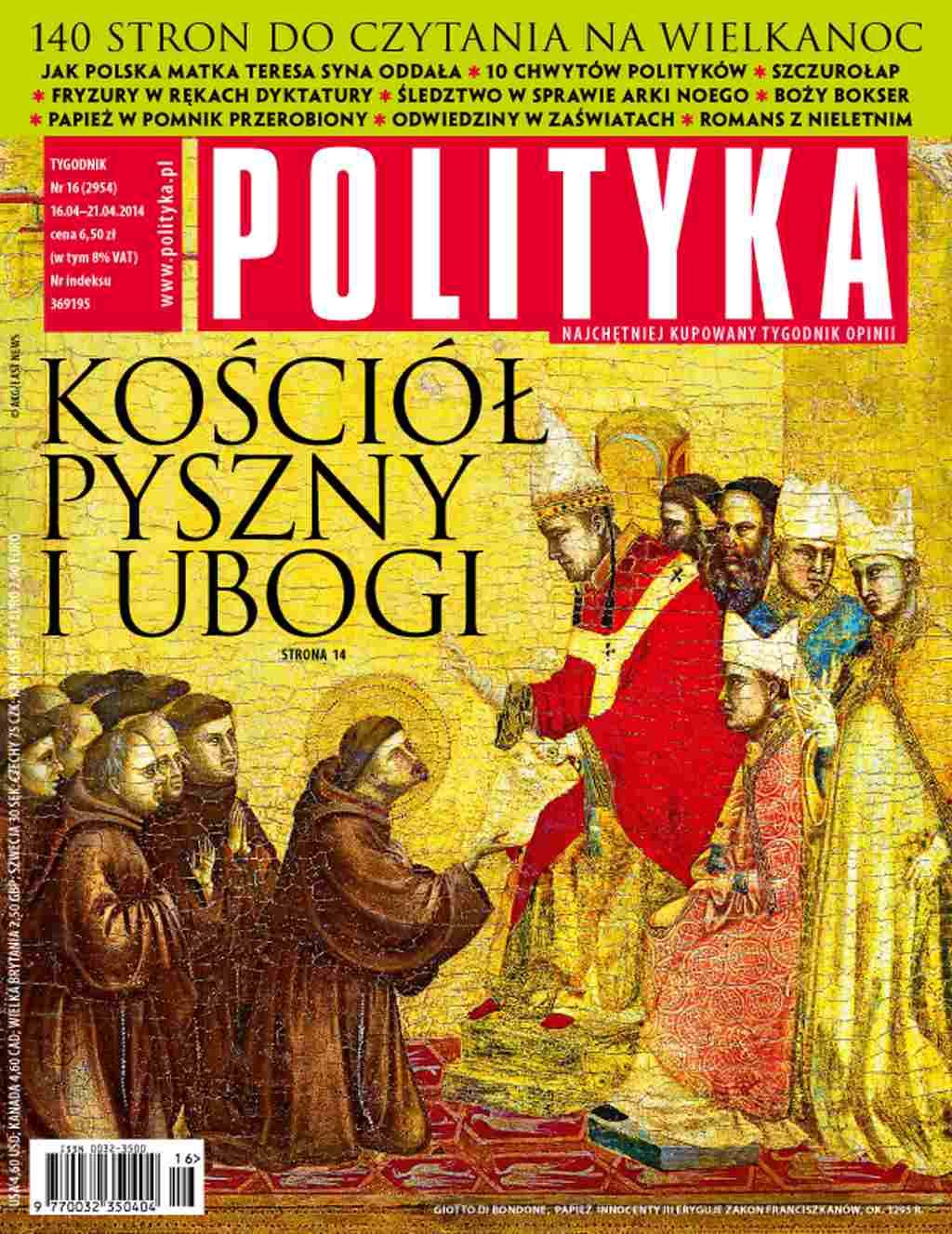 Polityka nr 16/2014 - Ebook (Książka PDF) do pobrania w formacie PDF