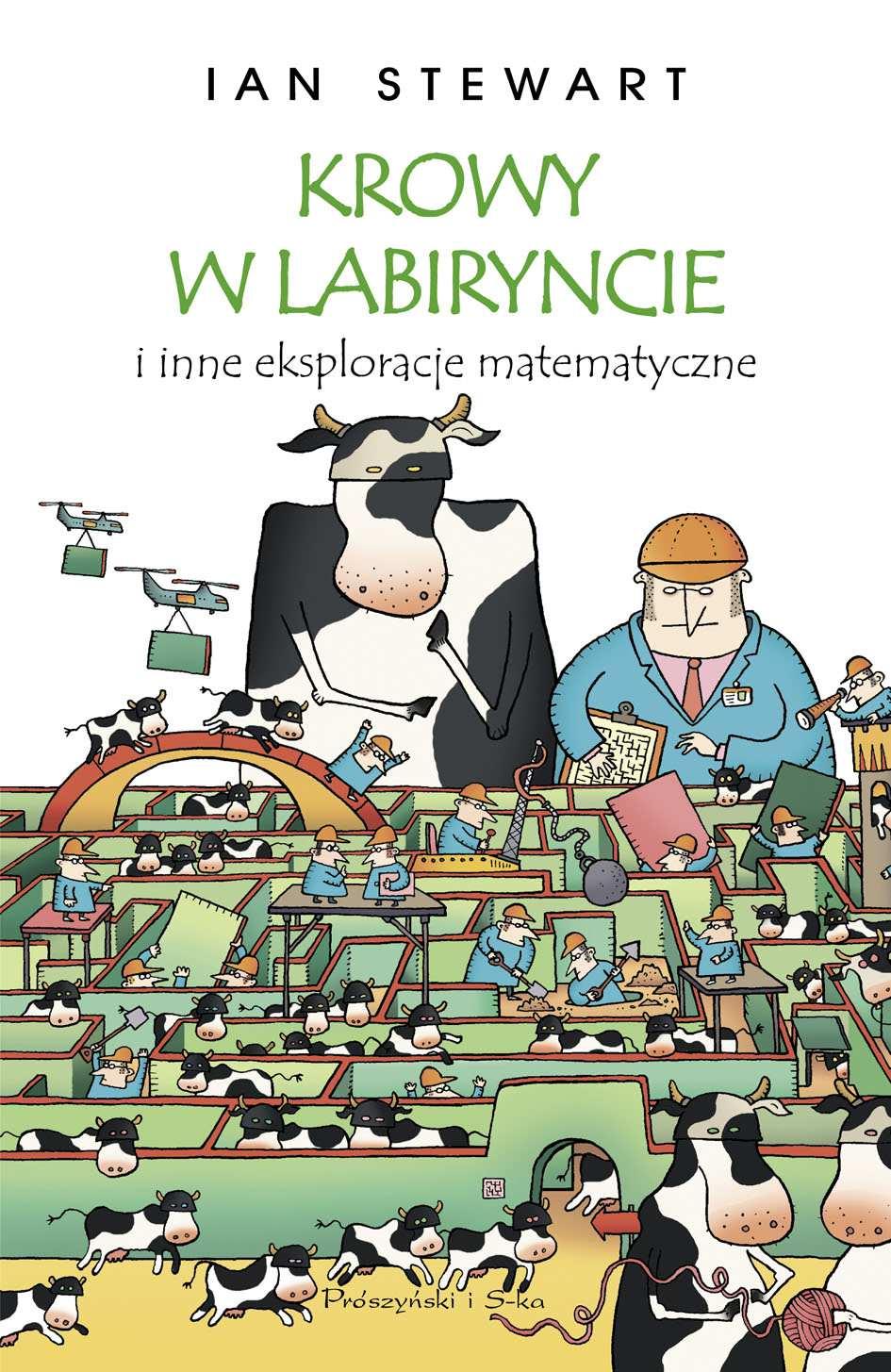 Krowy w labiryncie i inne eksploracje matematyczne - Ebook (Książka EPUB) do pobrania w formacie EPUB
