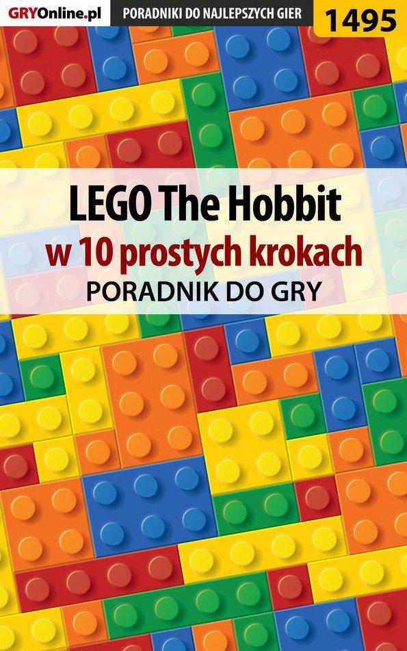 LEGO The Hobbit w 10 prostych krokach - Ebook (Książka EPUB) do pobrania w formacie EPUB
