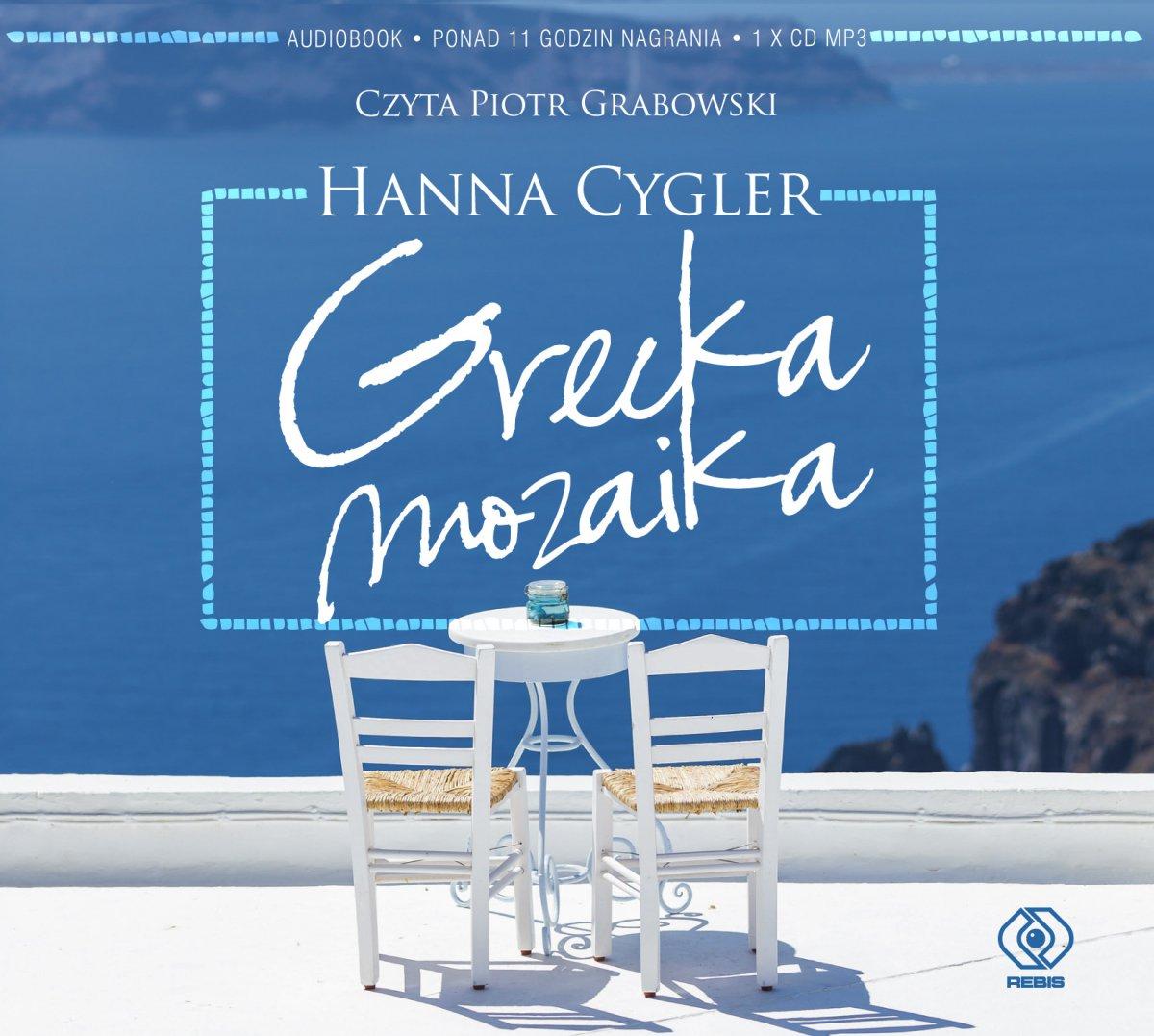 Grecka mozaika - Audiobook (Książka audio MP3) do pobrania w całości w archiwum ZIP