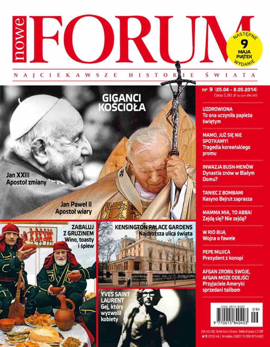 Forum nr 9/2014 - Ebook (Książka PDF) do pobrania w formacie PDF