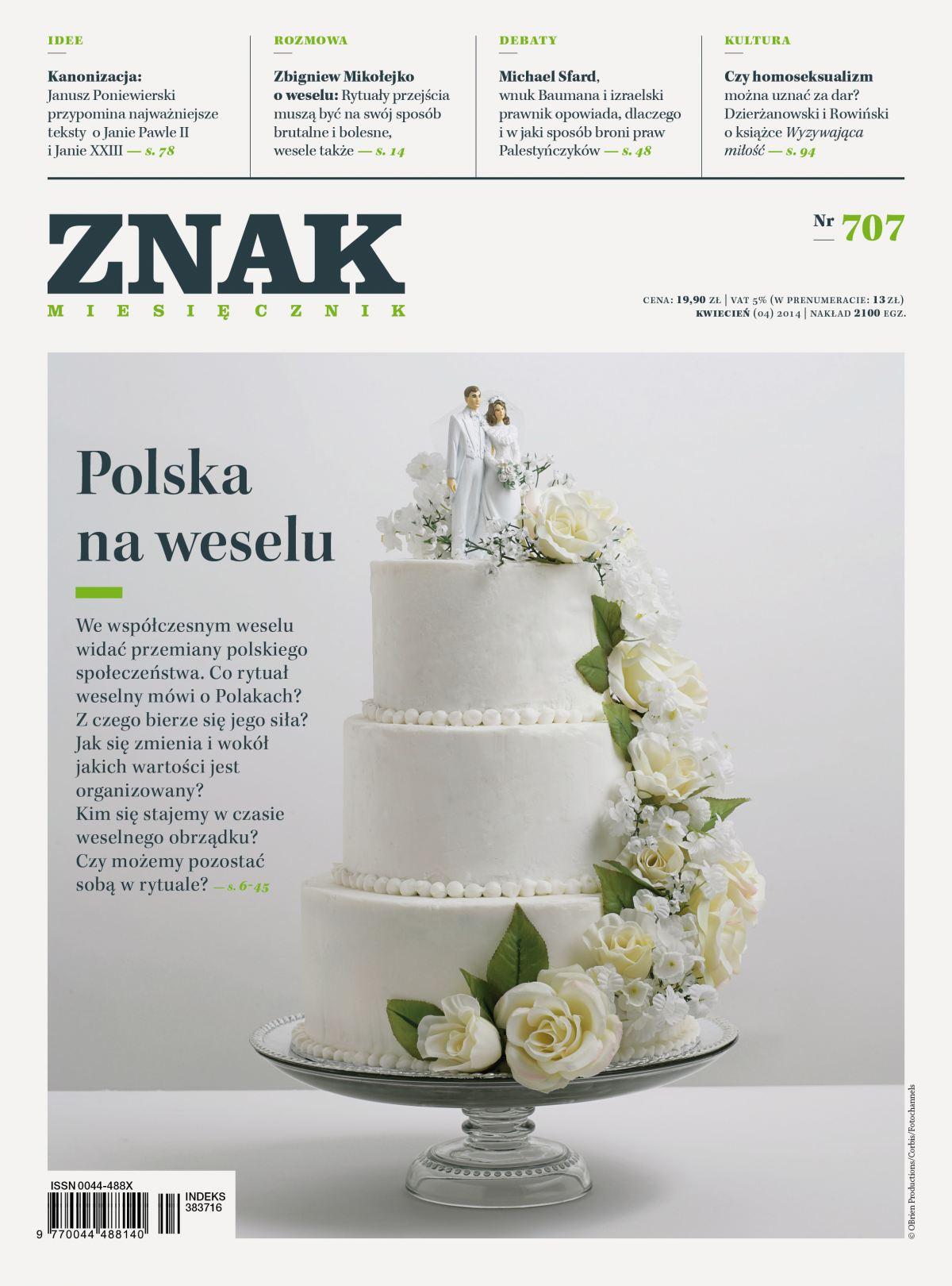 Miesięcznik Znak. Kwiecień 2014 - Ebook (Książka EPUB) do pobrania w formacie EPUB