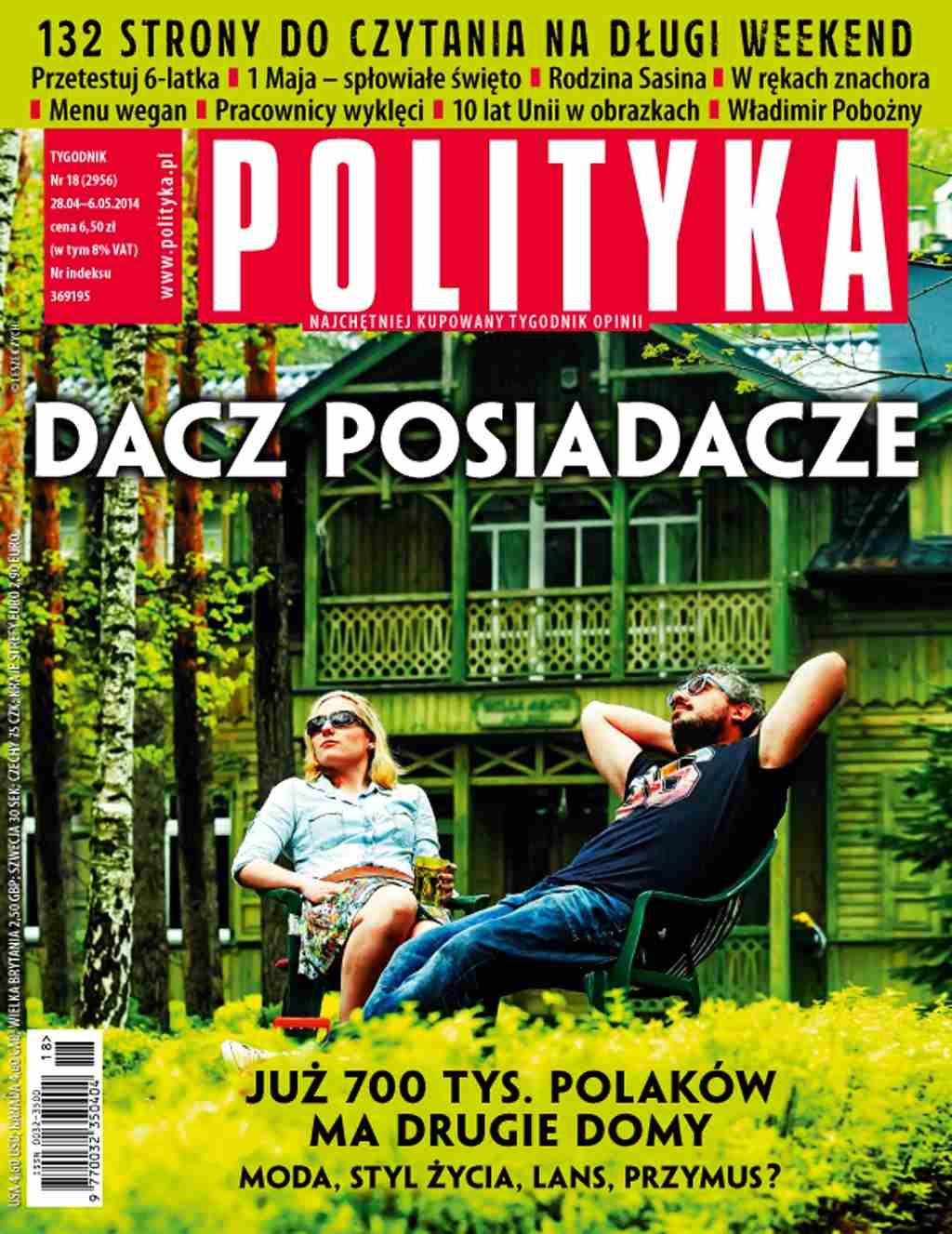 Polityka nr 18/2014 - Ebook (Książka PDF) do pobrania w formacie PDF