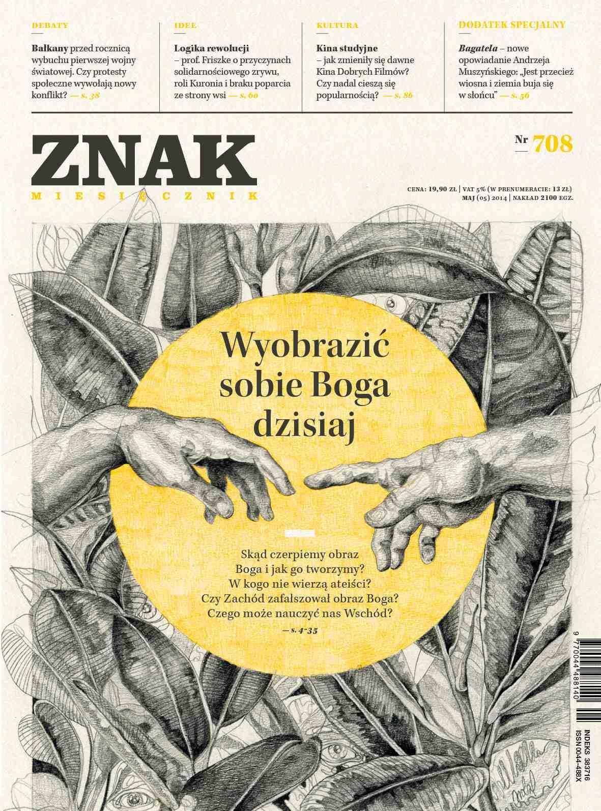 Miesięcznik Znak. Maj 2014 - Ebook (Książka EPUB) do pobrania w formacie EPUB