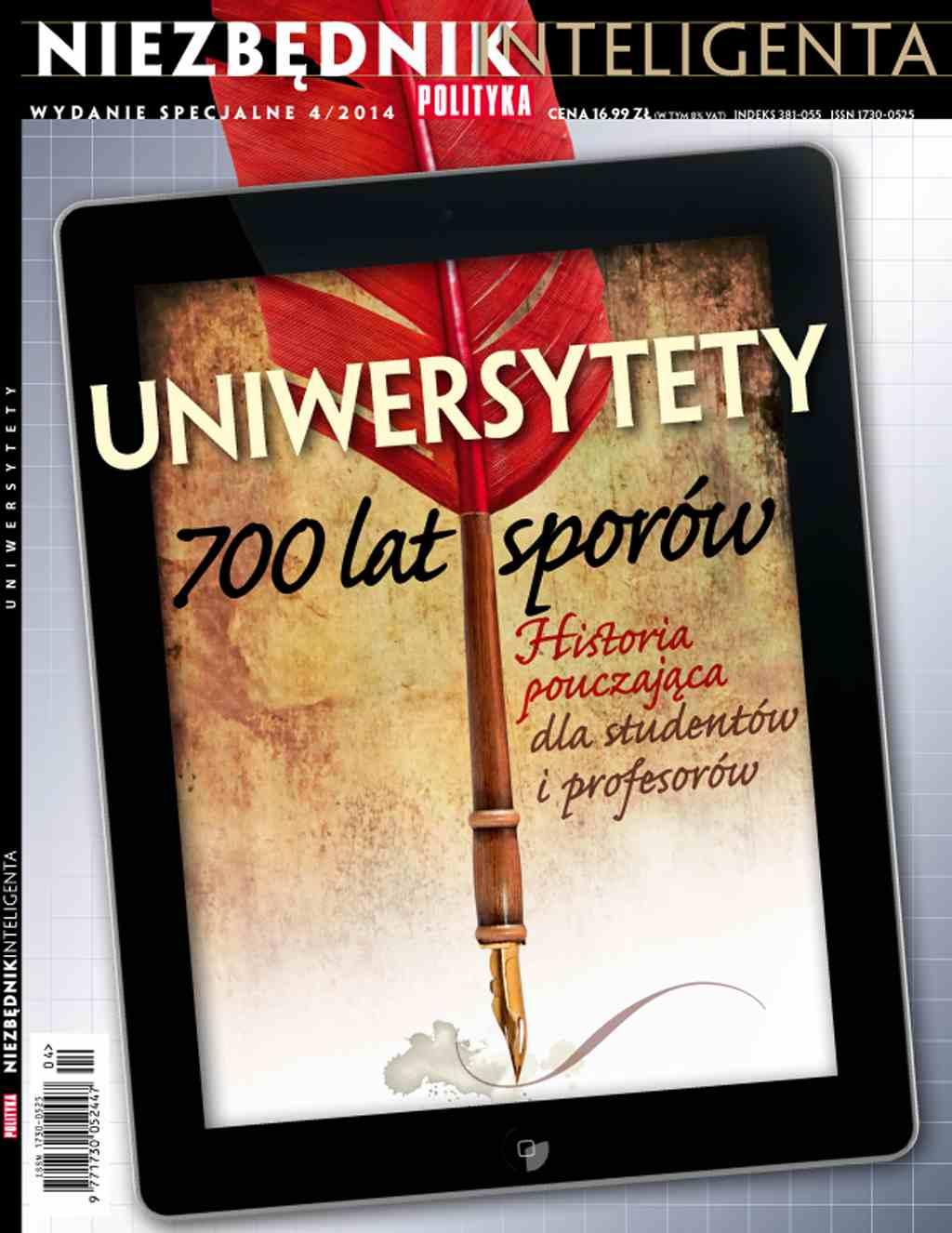 Niezbędnik inteligenta: Uniwersytety - Ebook (Książka PDF) do pobrania w formacie PDF