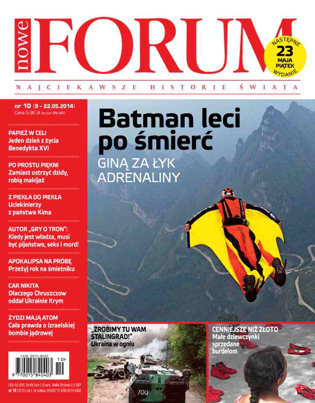 Forum nr 10/2014 - Ebook (Książka PDF) do pobrania w formacie PDF