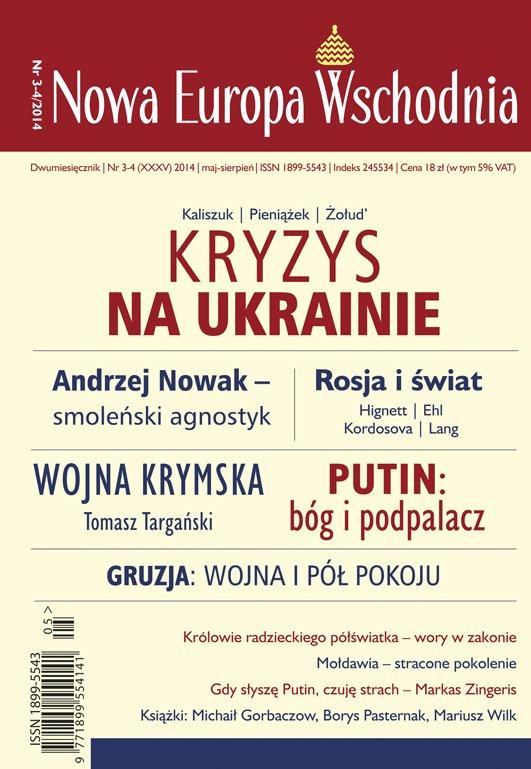 Nowa Europa Wschodnia 3-4/2014 - Ebook (Książka PDF) do pobrania w formacie PDF