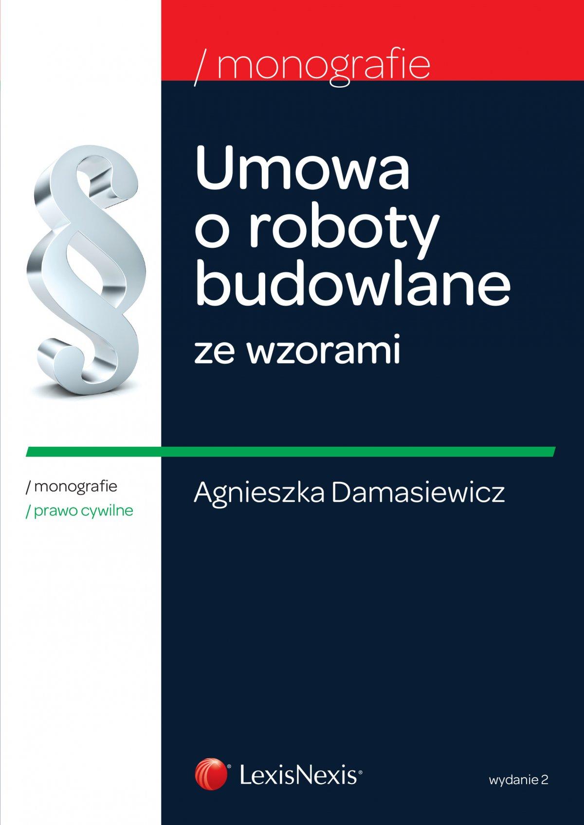 Umowa o roboty budowlane ze wzorami. Wydanie 2 - Ebook (Książka EPUB) do pobrania w formacie EPUB