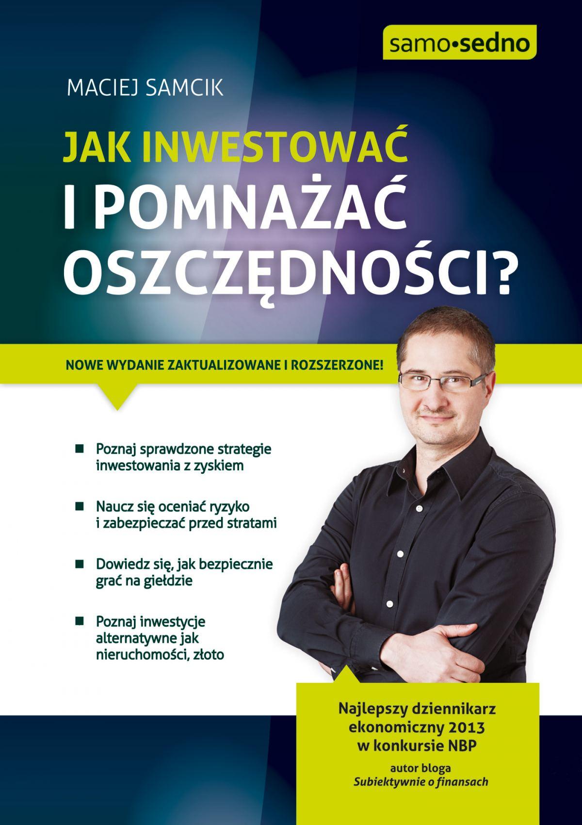 Samo Sedno - Jak inwestować i pomnażać oszczędności? - Ebook (Książka EPUB) do pobrania w formacie EPUB