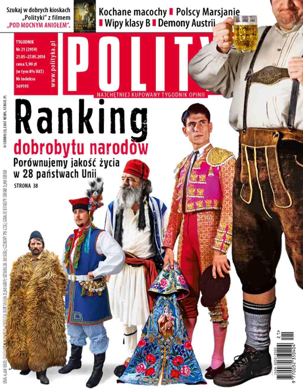 Polityka nr 21/2014 - Ebook (Książka PDF) do pobrania w formacie PDF