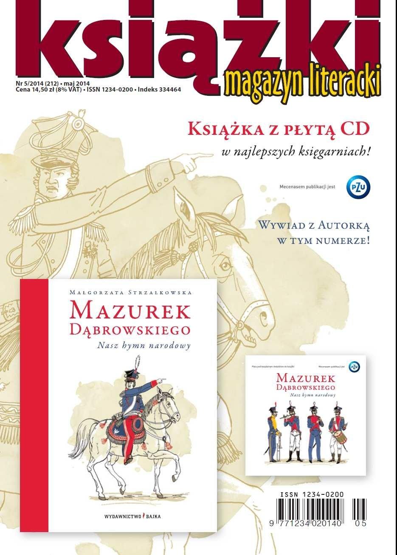 Magazyn Literacki KSIĄŻKI 5/2014 - Ebook (Książka PDF) do pobrania w formacie PDF