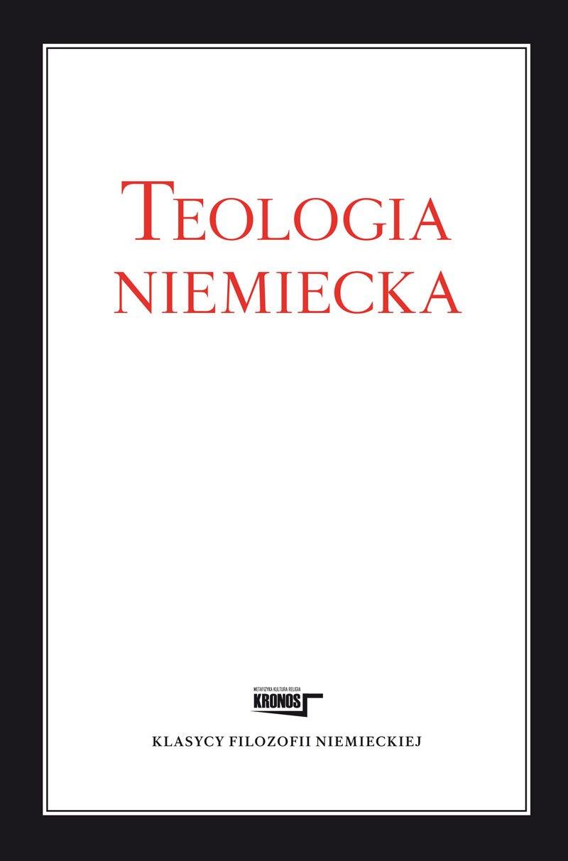 Teologia niemiecka - Ebook (Książka na Kindle) do pobrania w formacie MOBI