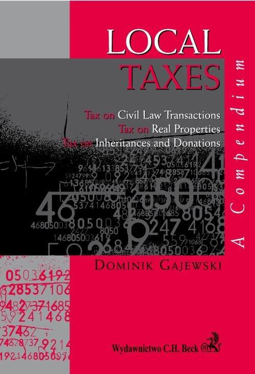 Local Taxes. A compendium - Ebook (Książka PDF) do pobrania w formacie PDF
