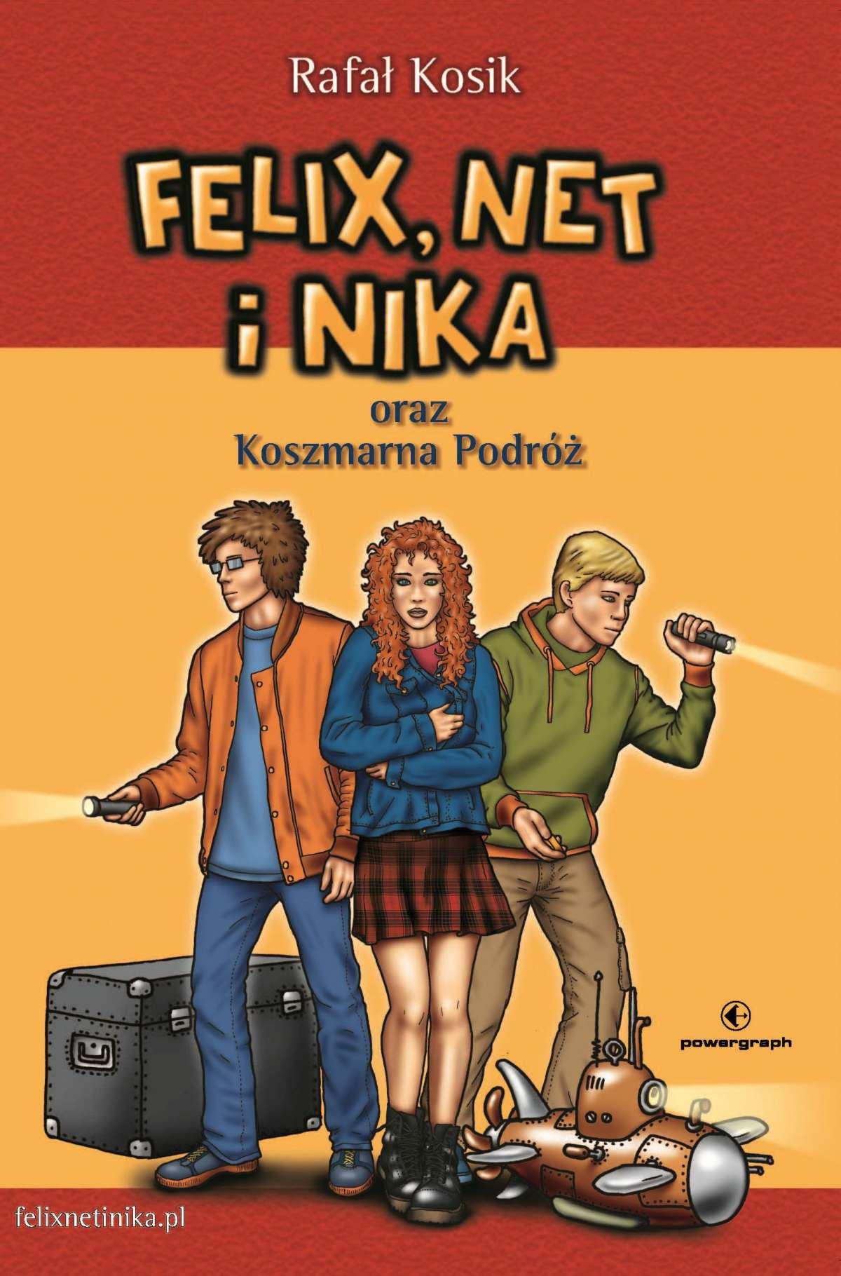 Felix, Net i Nika oraz Koszmarna Podróż - Ebook (Książka na Kindle) do pobrania w formacie MOBI