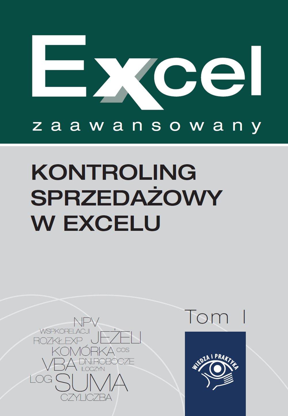 Kontroling sprzedażowy w Excelu - Ebook (Książka na Kindle) do pobrania w formacie MOBI