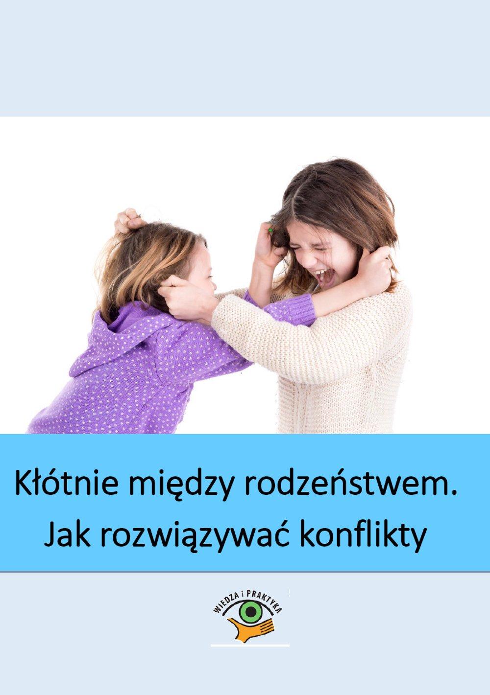 Kłótnie między rodzeństwem - jak rozwiązywać konflikty domowe - Ebook (Książka PDF) do pobrania w formacie PDF