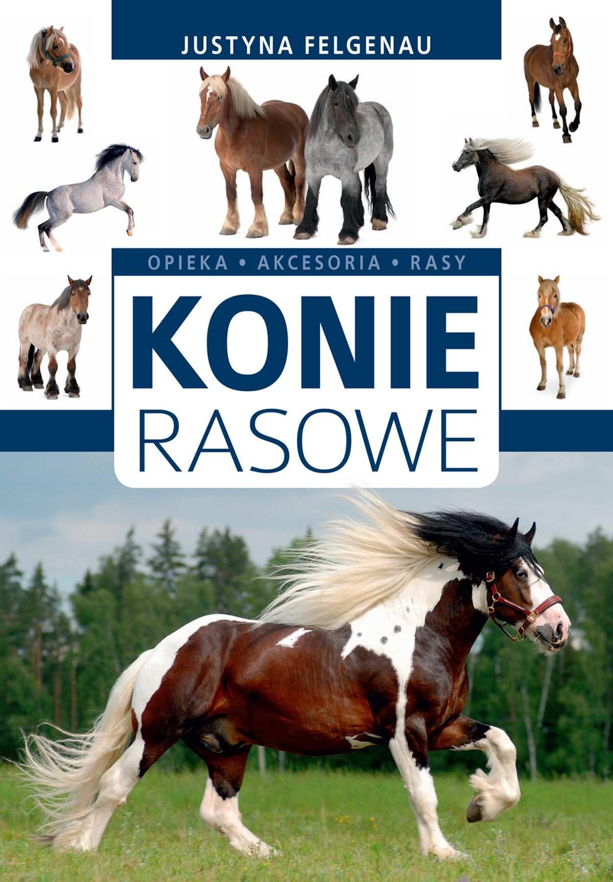 Konie rasowe - Ebook (Książka PDF) do pobrania w formacie PDF
