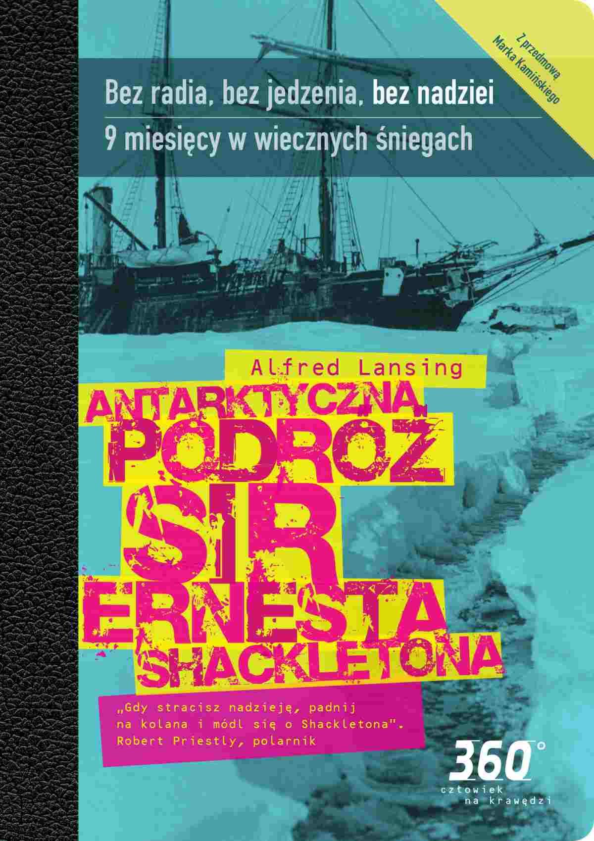 Antarktyczna podróż sir Ernesta Shacketona - Ebook (Książka EPUB) do pobrania w formacie EPUB