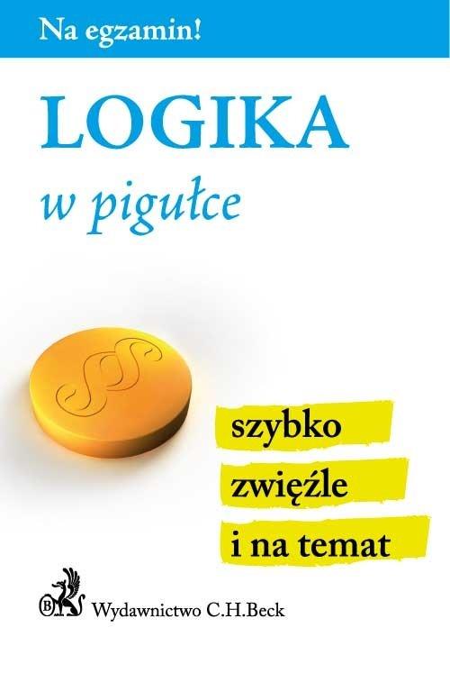 Logika w pigułce - Ebook (Książka PDF) do pobrania w formacie PDF