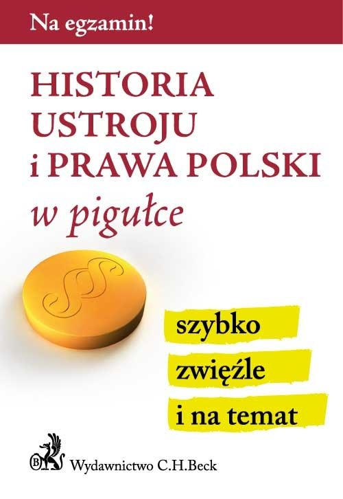 Historia ustroju i prawa Polski w pigułce - Ebook (Książka PDF) do pobrania w formacie PDF