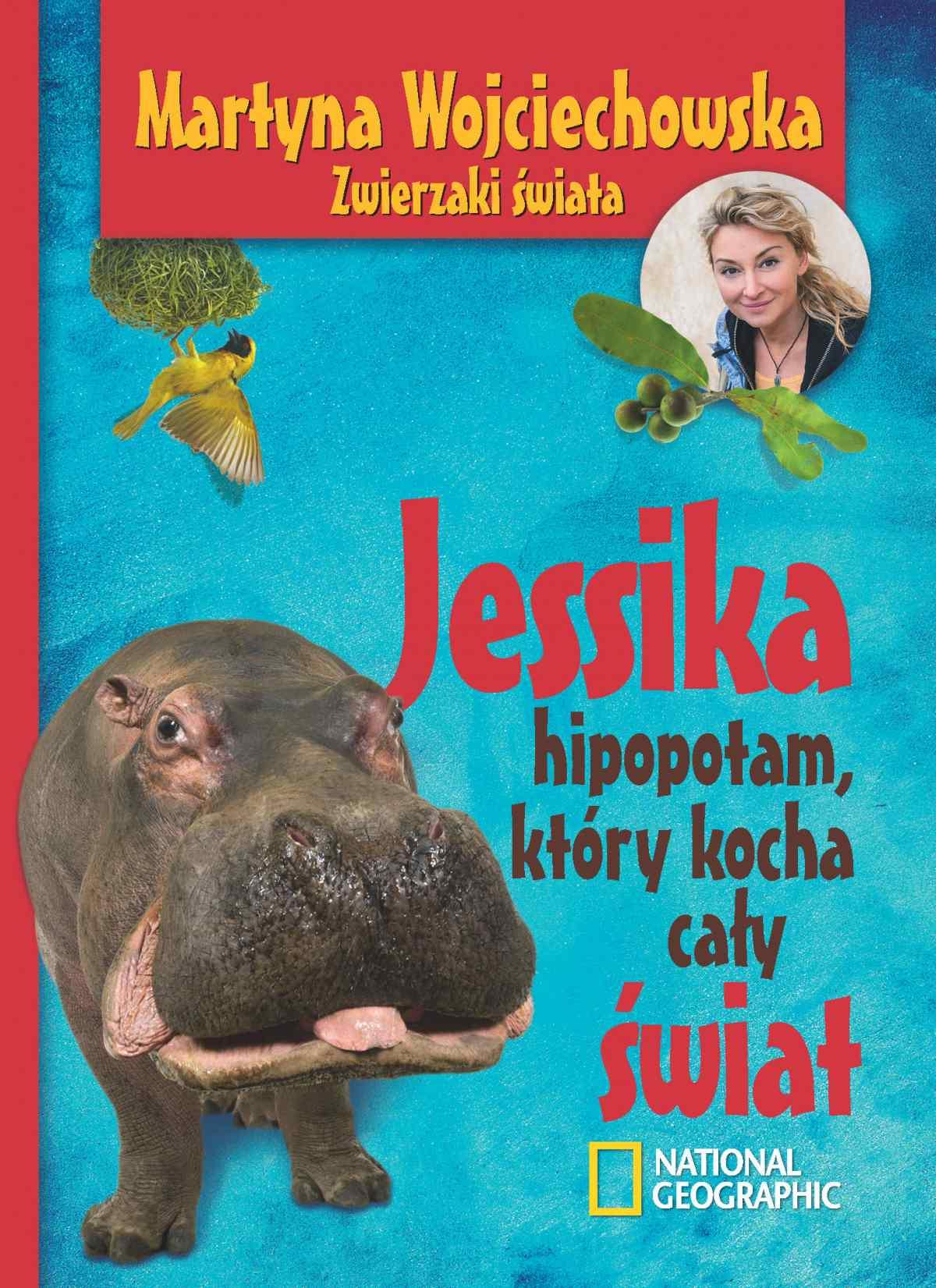 Jessika, hipopotam, który kocha cały świat - Ebook (Książka na Kindle) do pobrania w formacie MOBI